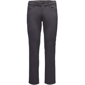 Black Diamond Stretch Font Pantaloni Uomo, anthracite